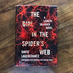 """The girl I'm the spider web"" book"